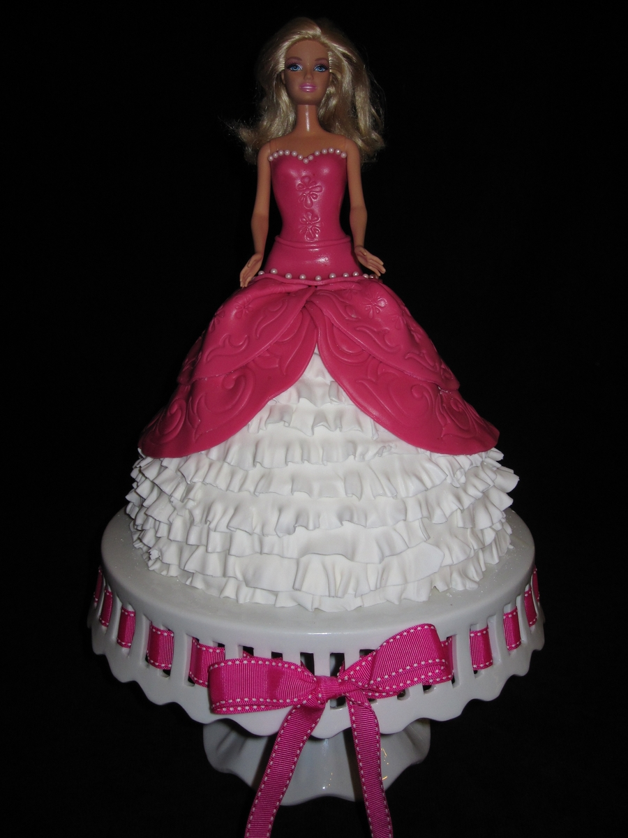 Tea Party Barbie on Cake Central