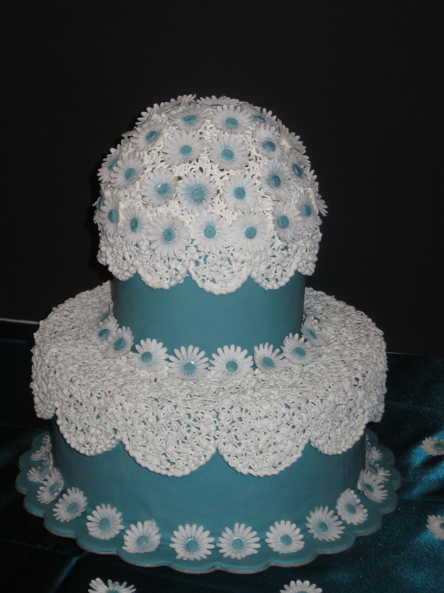 Daisy Dome on Cake Central