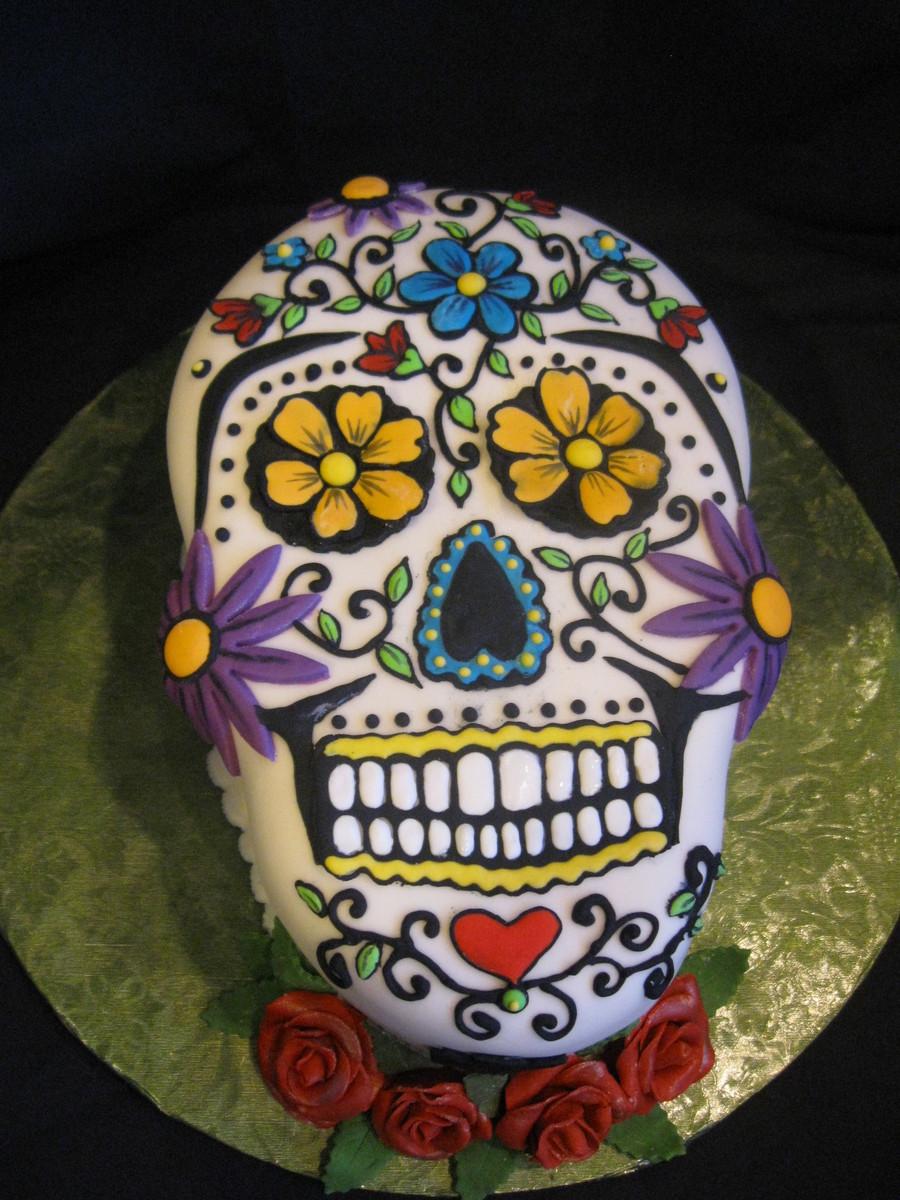 Skull Cake Decorations