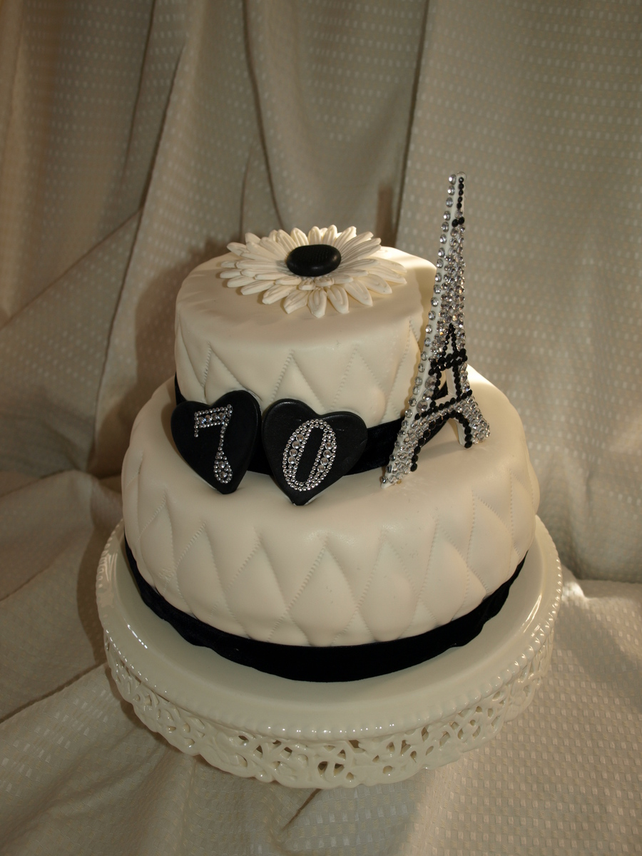 Theme : Paris on Cake Central