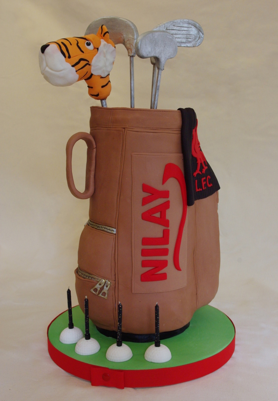 Golf Bag Cake - CakeCentral.com