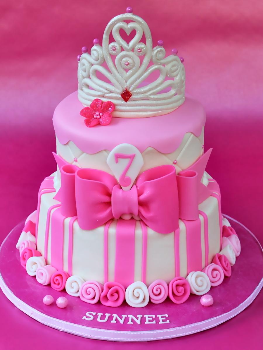 Pink Fondant Cake Recipe