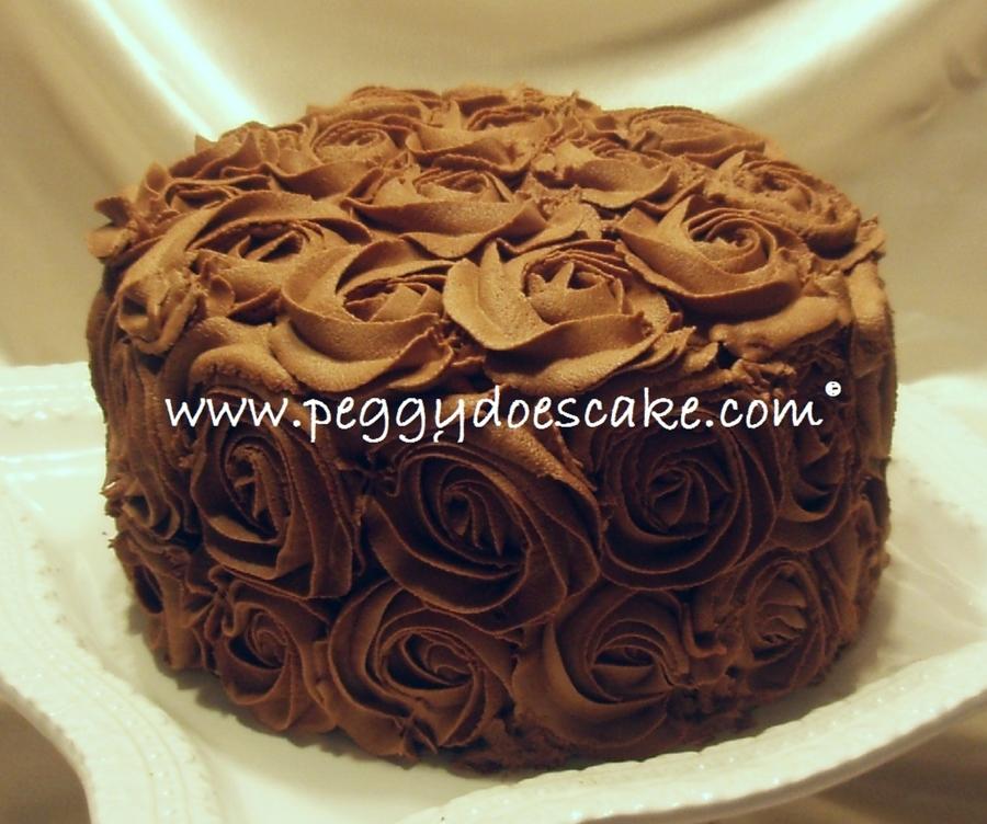 Chocolate Rose Cake Cakecentral Com