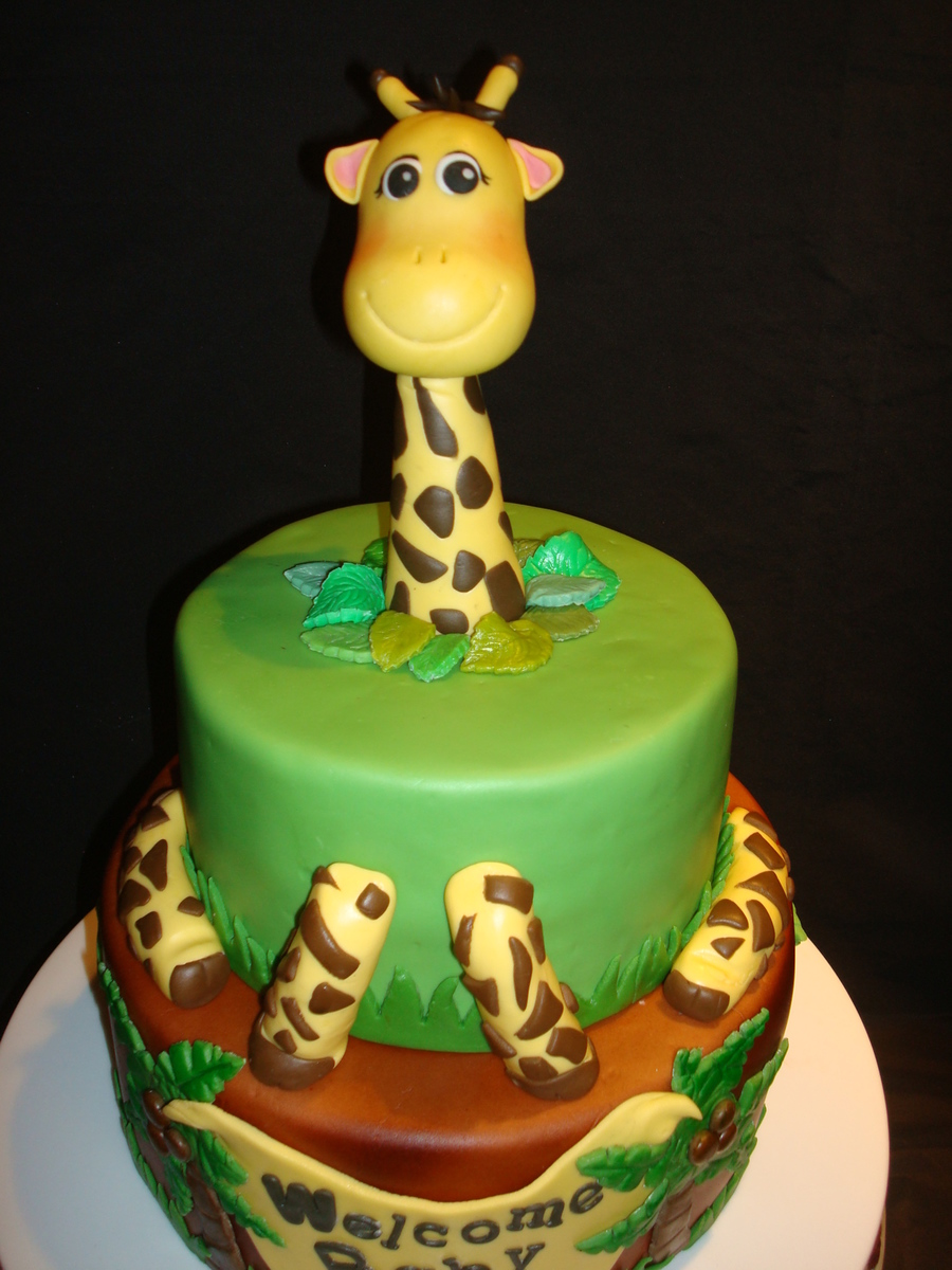 Safari Baby Shower Cakecentral Com