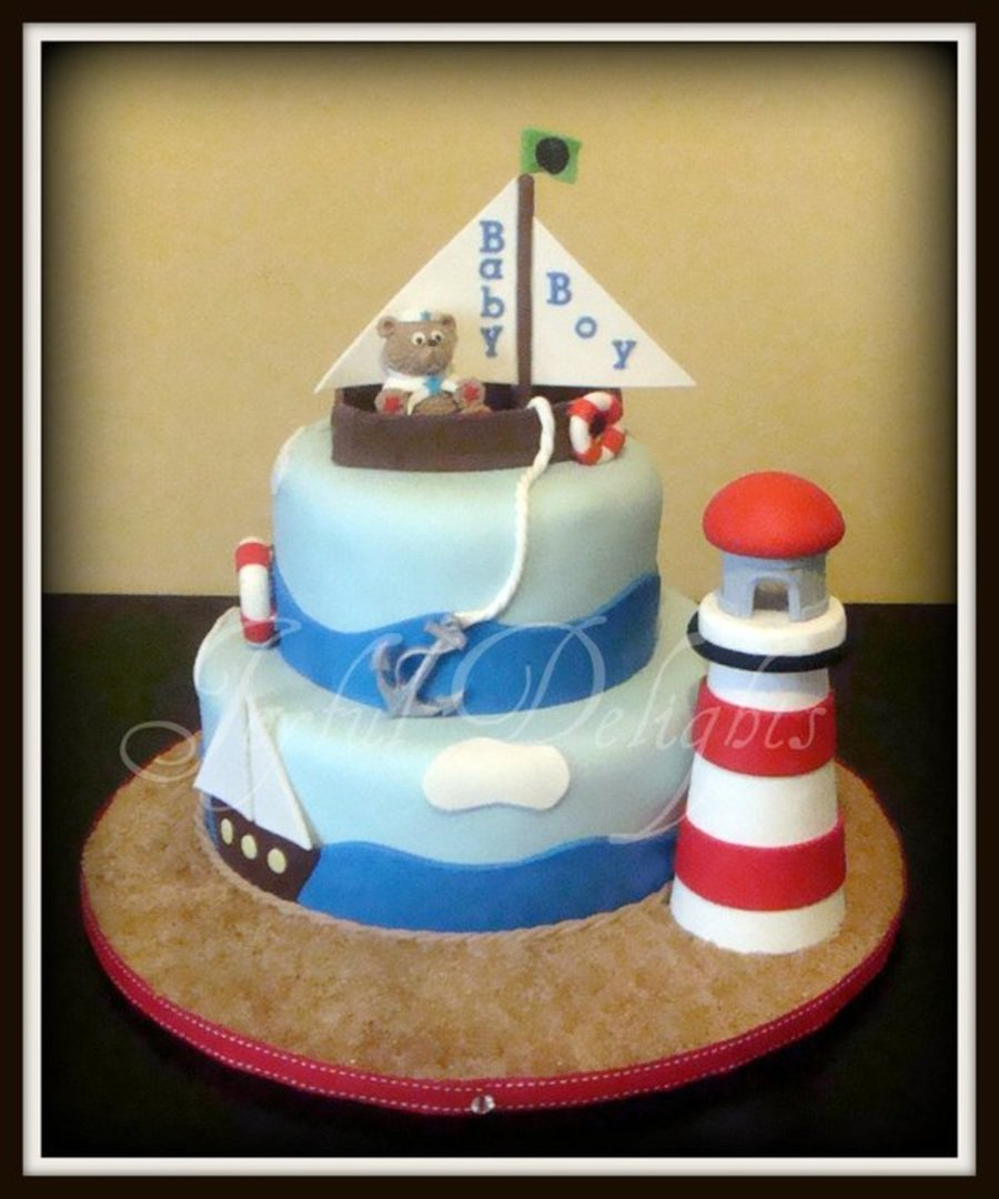 Ahoy There!!! on Cake Central