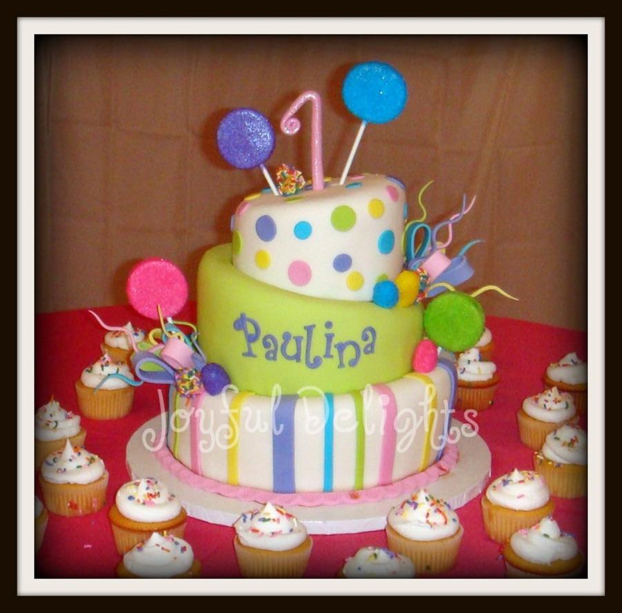 Superb 1St Candyland Birthday Cake Cakecentral Com Birthday Cards Printable Opercafe Filternl