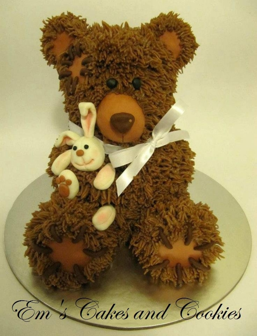 Cute Teddybear :-) on Cake Central