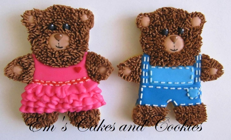 Teddybear Cookies on Cake Central