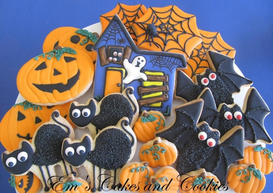 Halloween Cookie Platter  on Cake Central