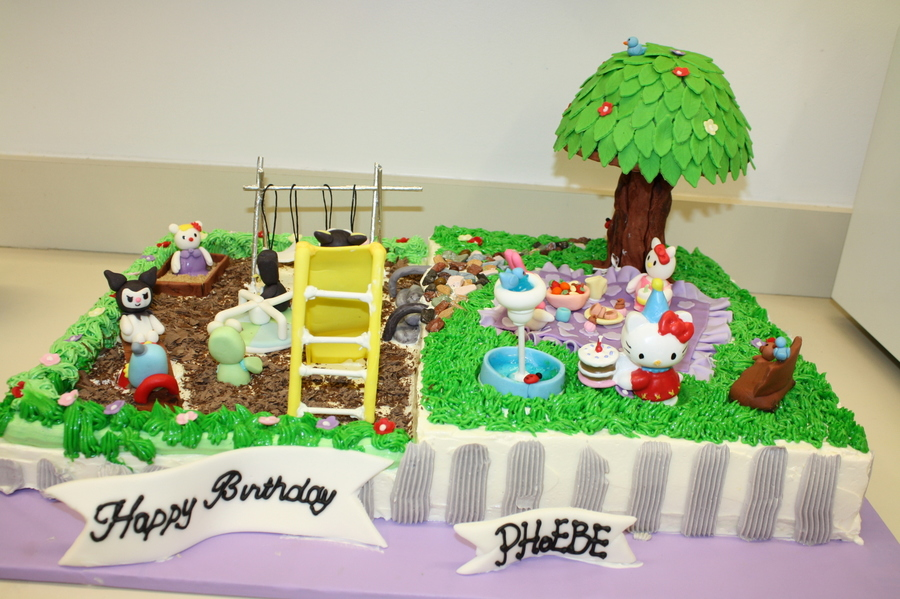 Playground Cake on Cake Central