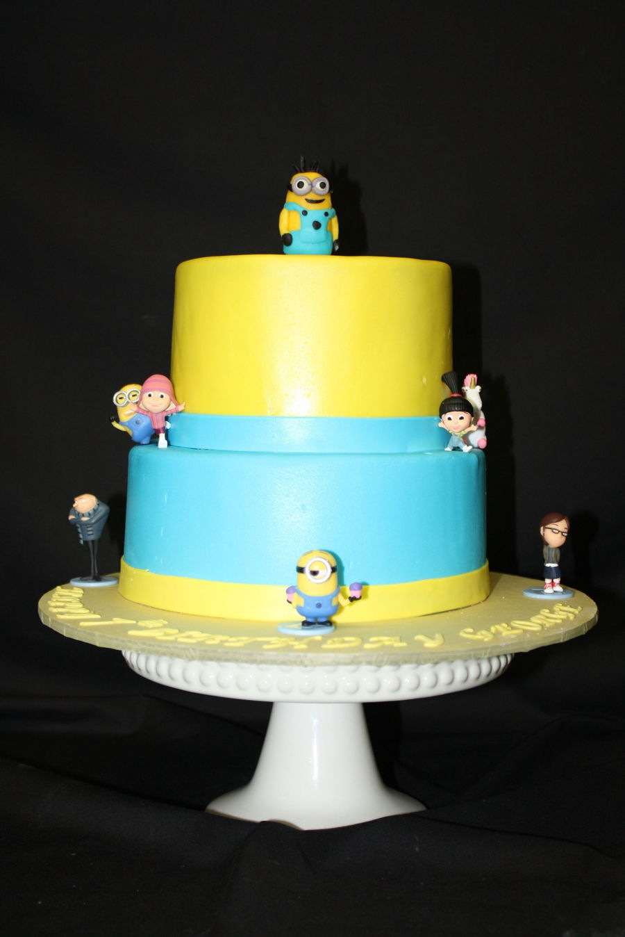 Despicable Me Birthday Cake Cakecentral