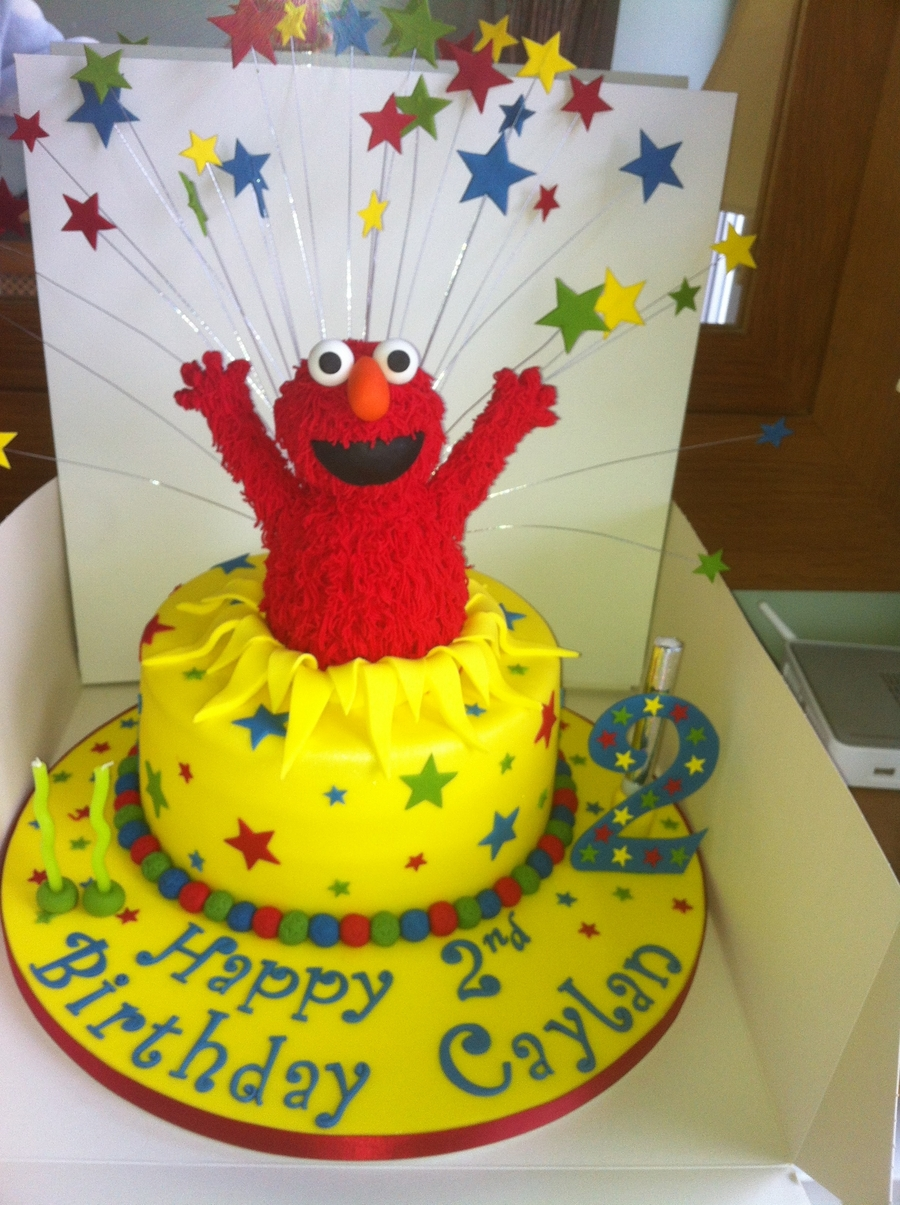 Elmo Cakes on Cake Central