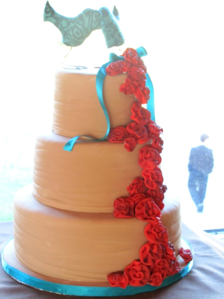 Ribbons And Roses on Cake Central