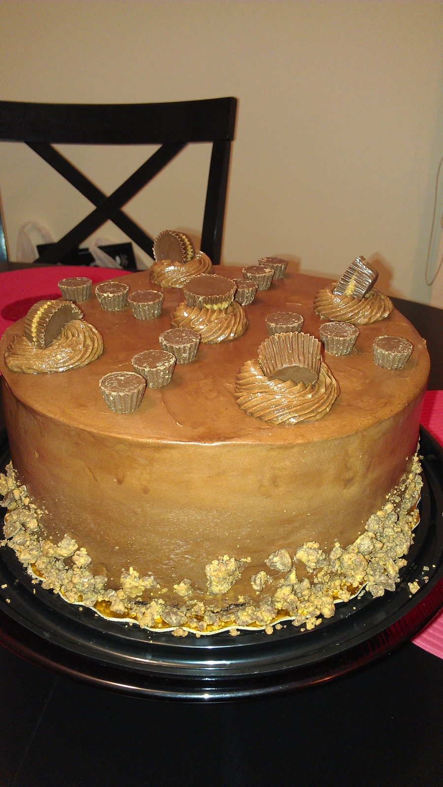 Chocolate Reeses's Cake on Cake Central