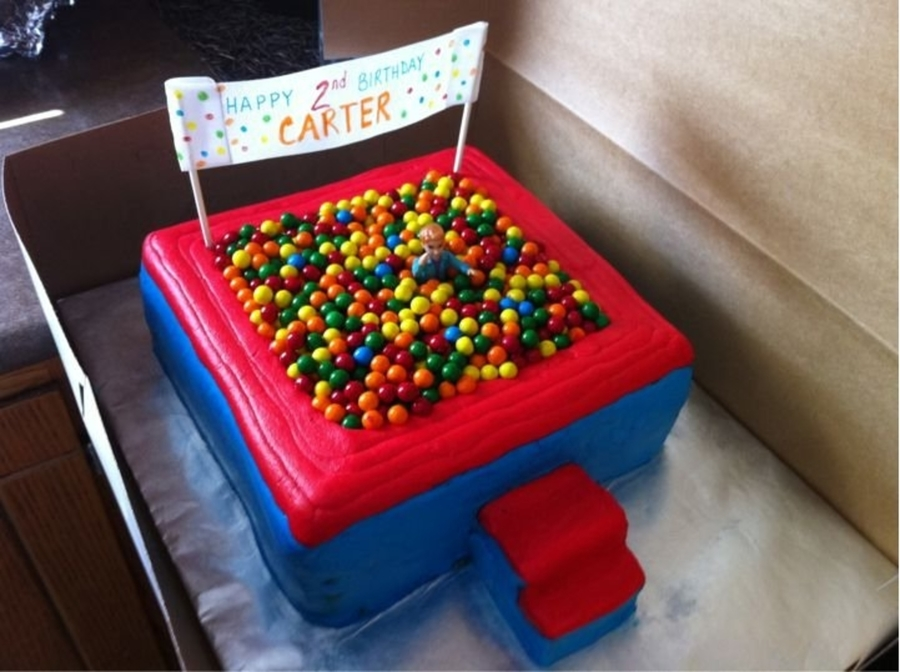 Ball Pit Cake!! on Cake Central