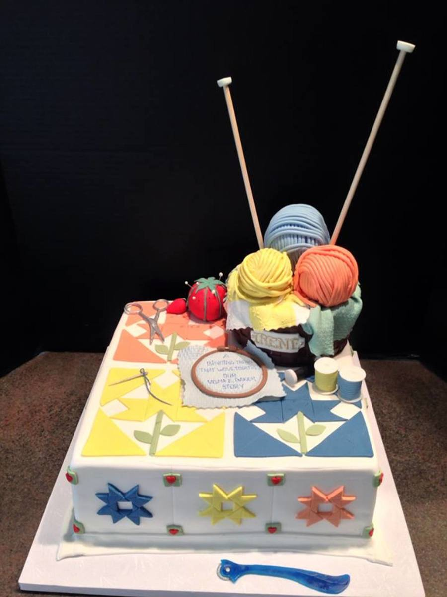 Quilters Retirement Cake Cakecentral Com