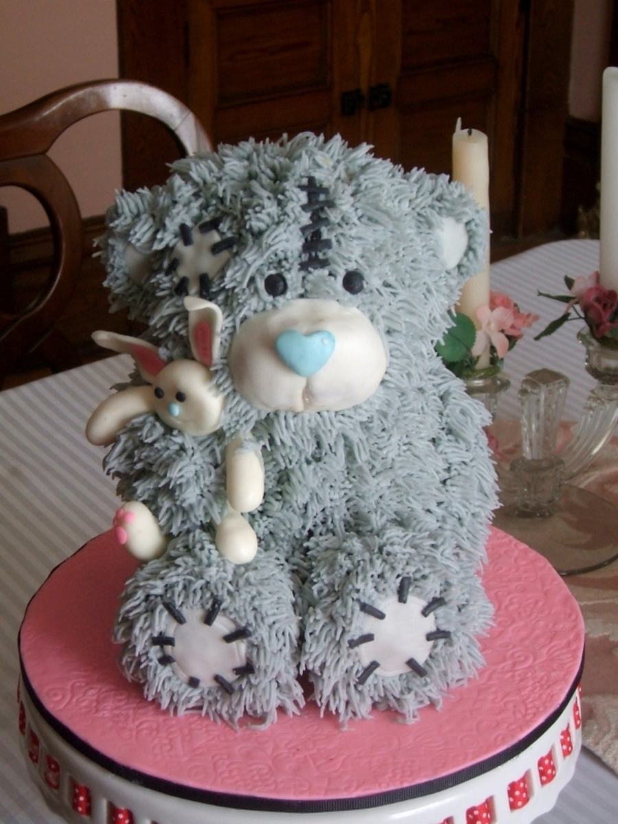 How To Make Teddy Bear Cake Shape