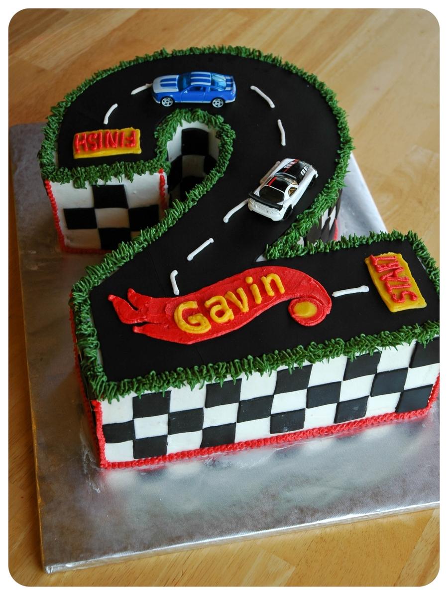Digital Hot Wheel Birthday Cakes