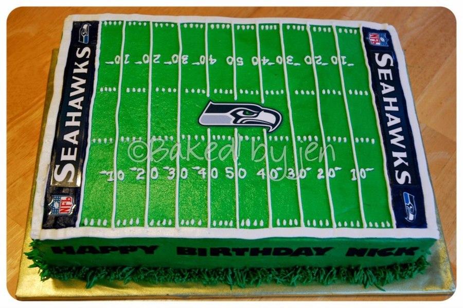 Seattle Seahawks Birthday Cake Images
