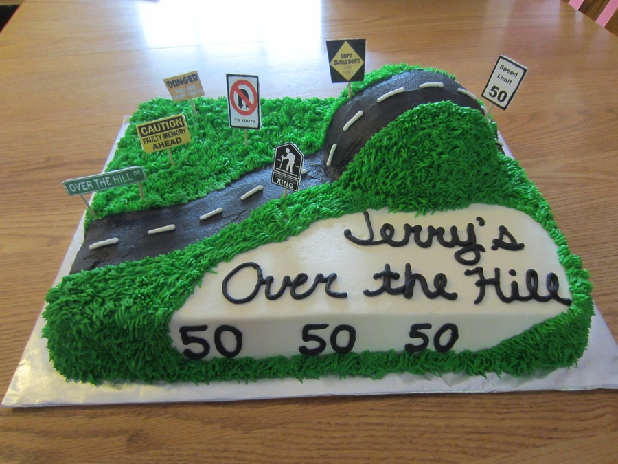 Over The Hill on Cake Central