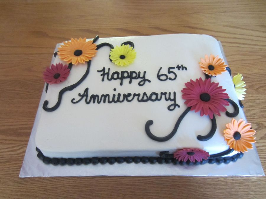65Th Anniversary  on Cake Central