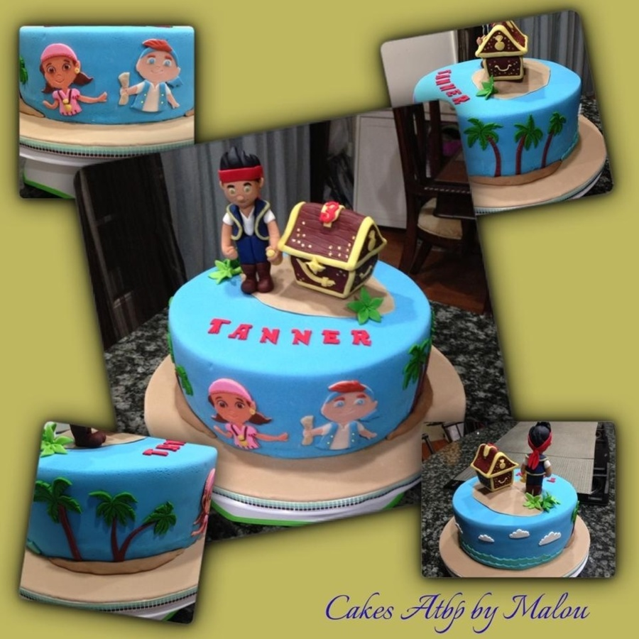 Incredible Jake And The Neverland Pirates Birthday Cake Cakecentral Com Funny Birthday Cards Online Inifodamsfinfo