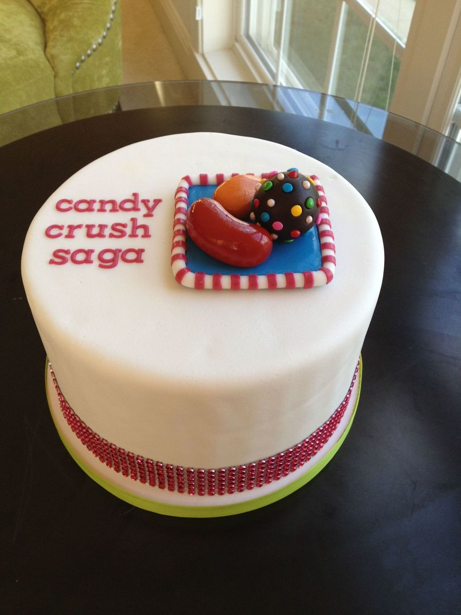 Candy Crush Saga on Cake Central