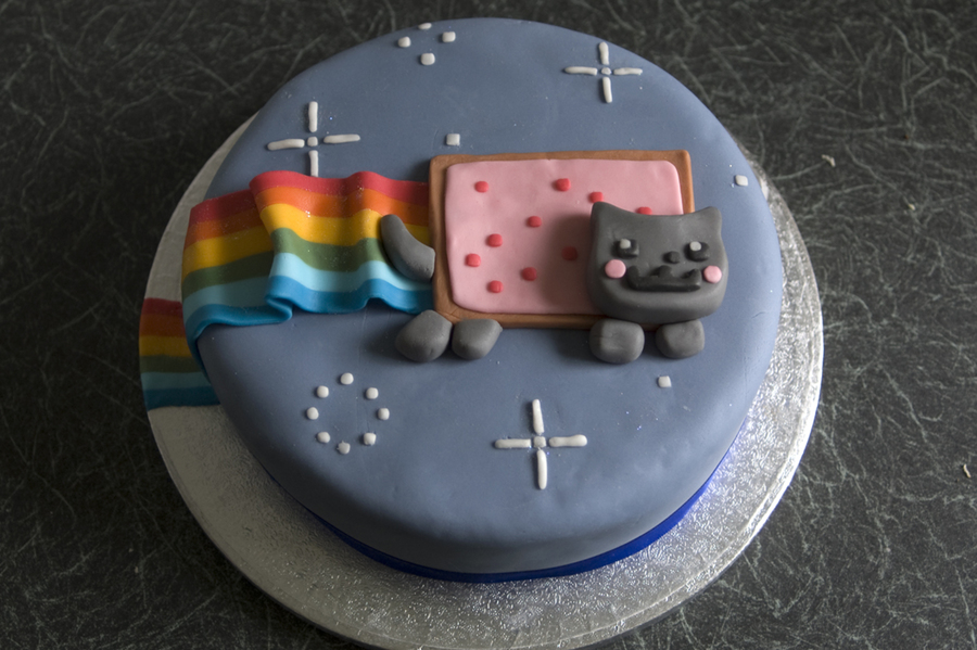 This Is My Nyan Cat Birthday Cake Inspired By The Infamous ...