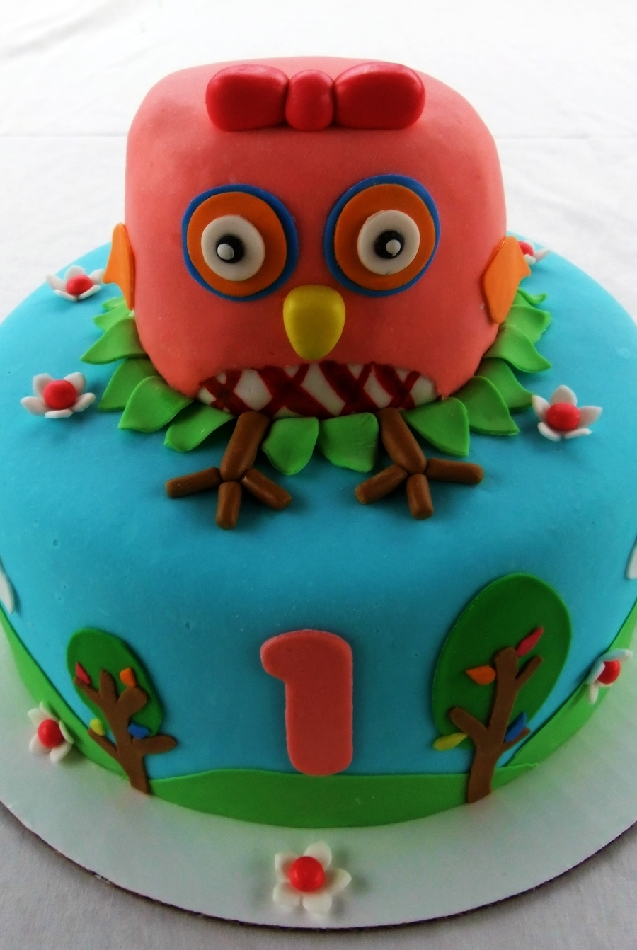 Your A Hoot Owl Birthday Cake CakeCentralcom