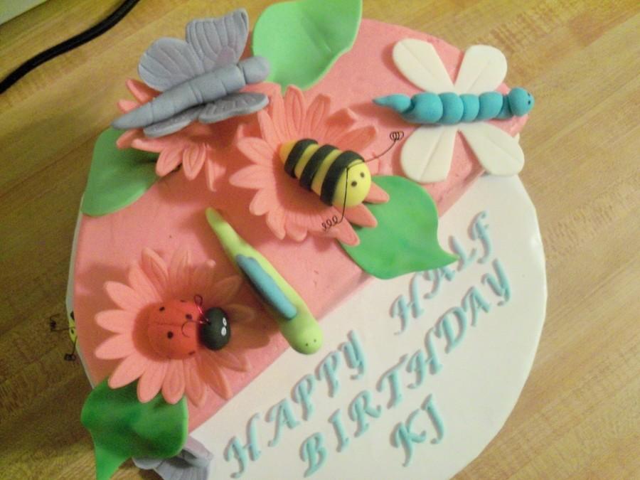 Half Birthday Cake Cakecentral