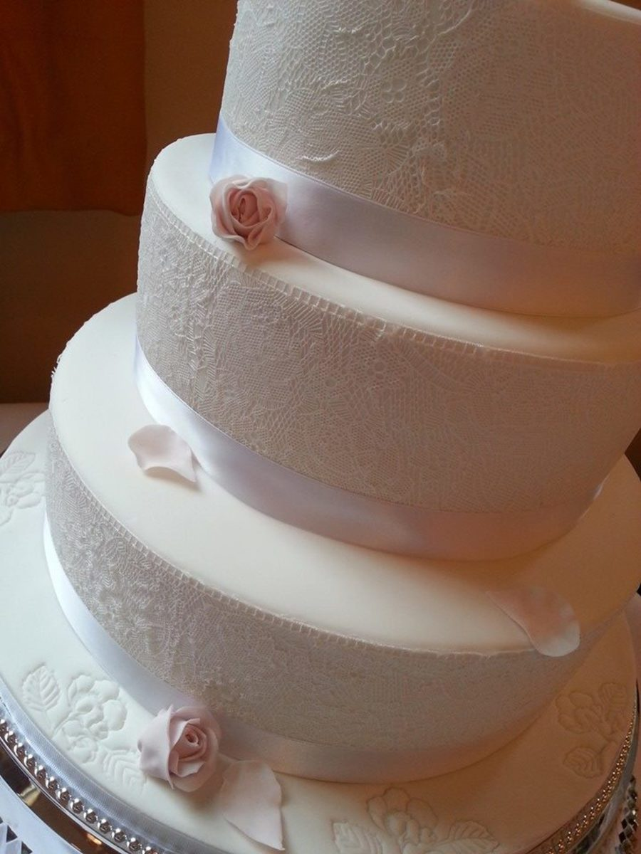 Wedding Lace on Cake Central