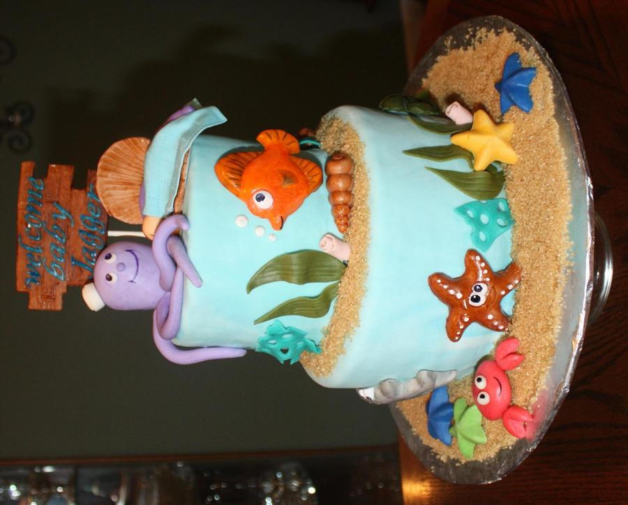 Under The Sea Shower on Cake Central
