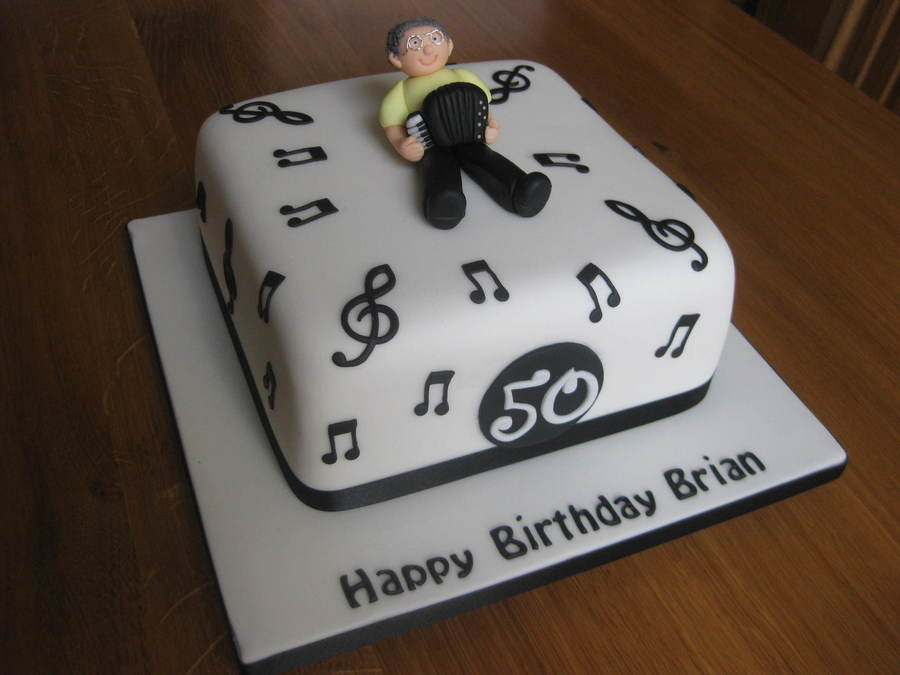 Accordion Player on Cake Central