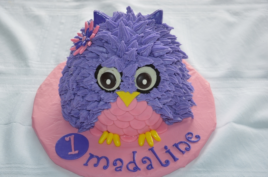 Made This For A Friends Daughters 1st Bday Smash Cake
