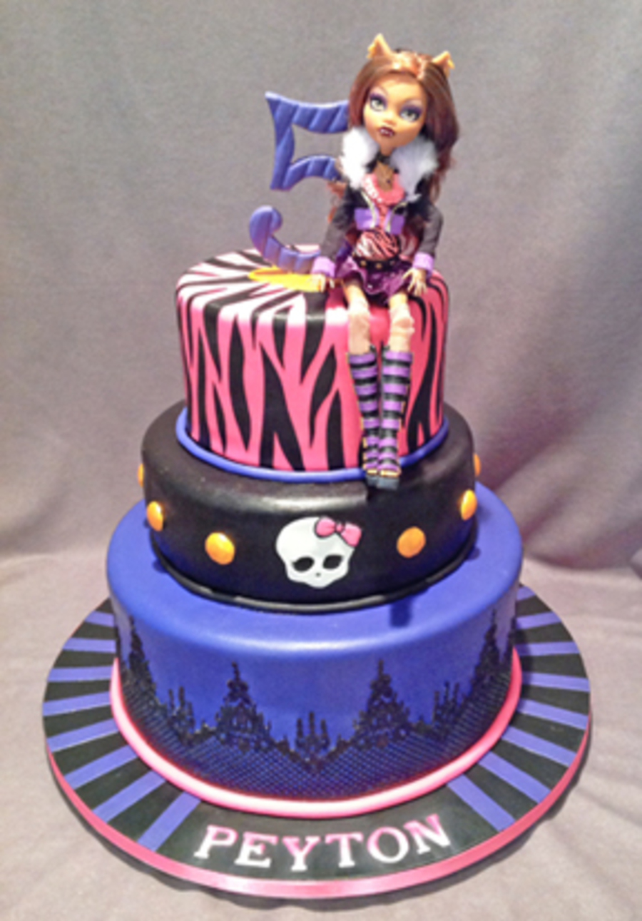 Monster High Wolf Girl Cake Cakecentral Com
