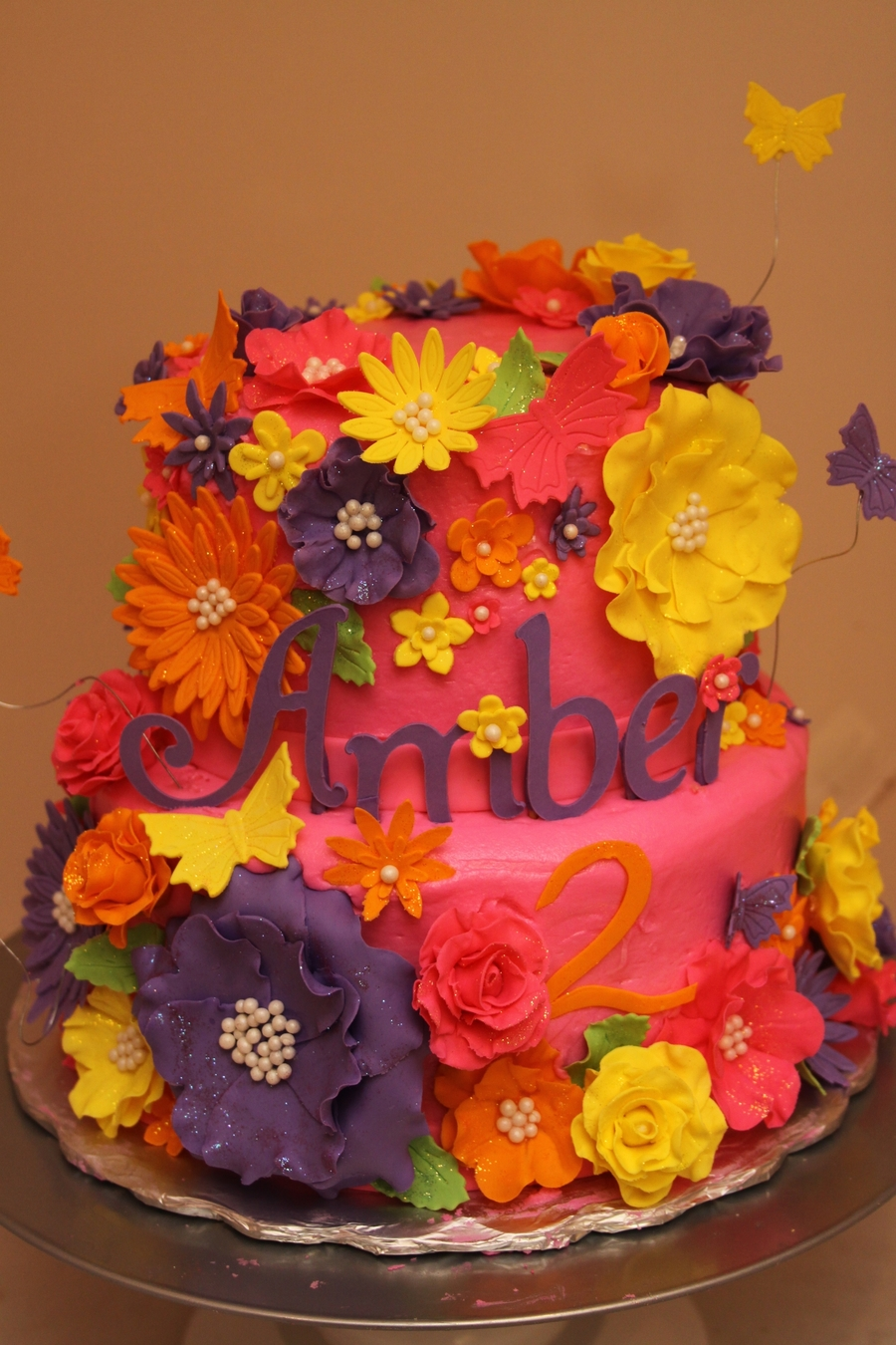 Fun With Flowers on Cake Central