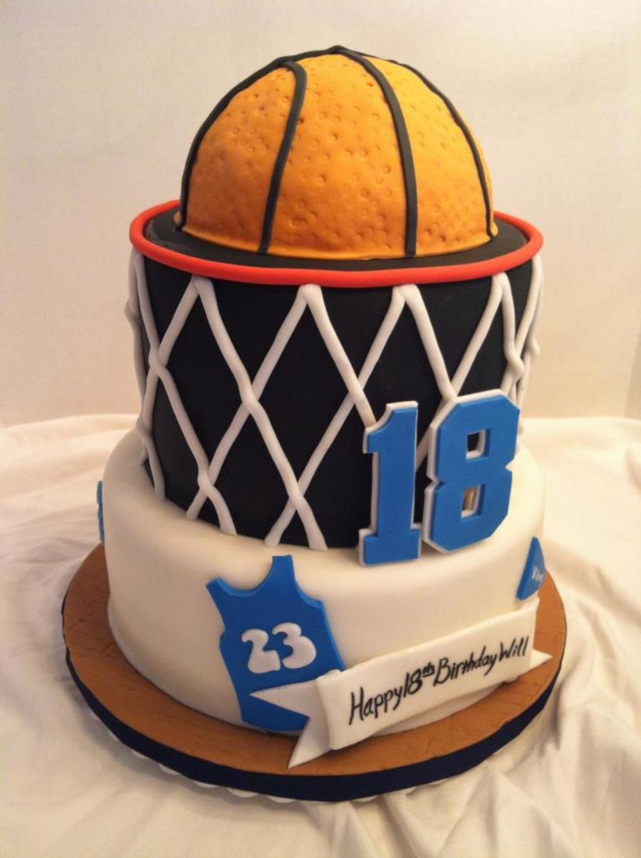 Basketball Cake For Icing Smiles on Cake Central
