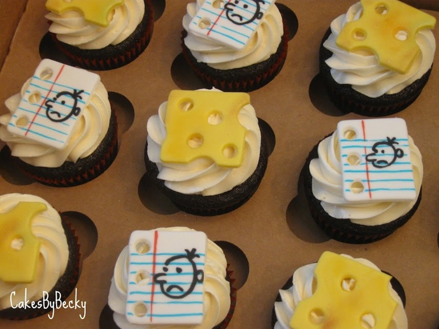 Diary Of A Wimpy Kid Cupcakes on Cake Central