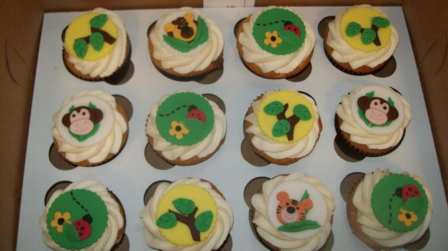 Zoo/jungle Themed Cupcakes on Cake Central