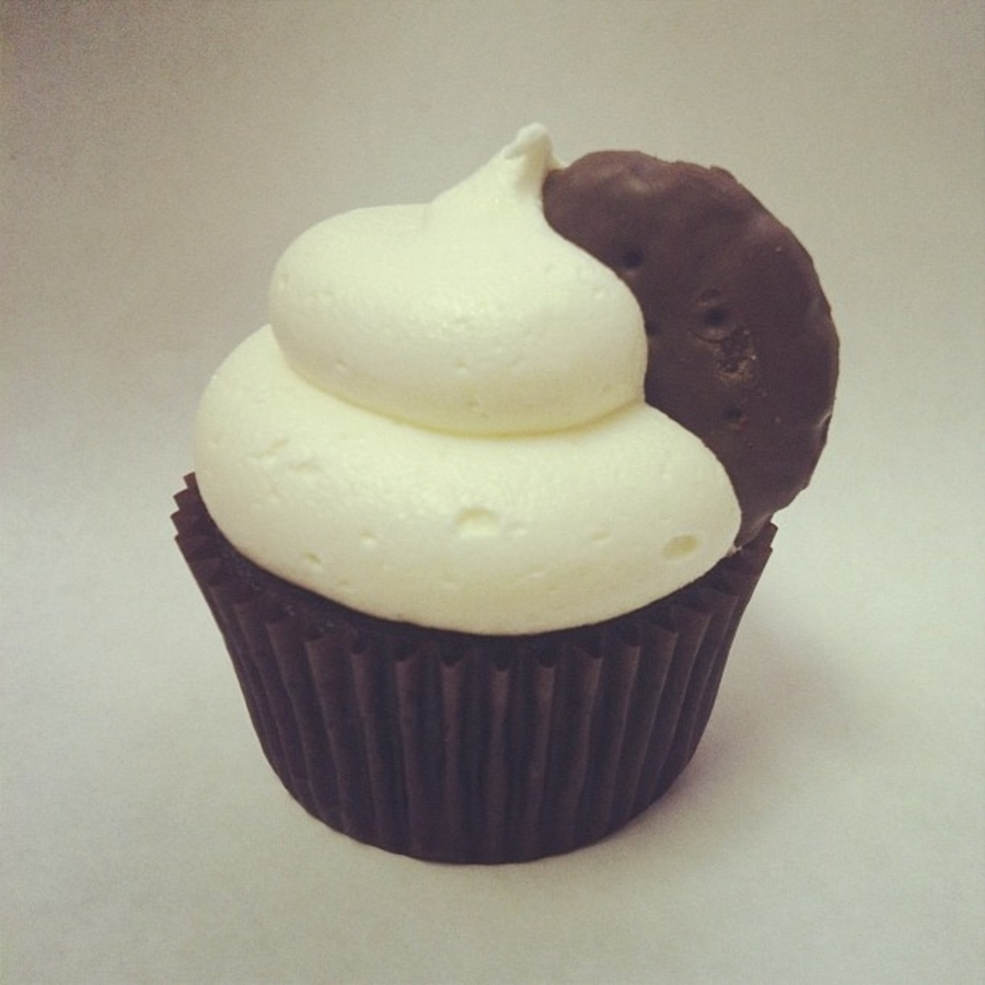 Thin Mint Cupcakes on Cake Central
