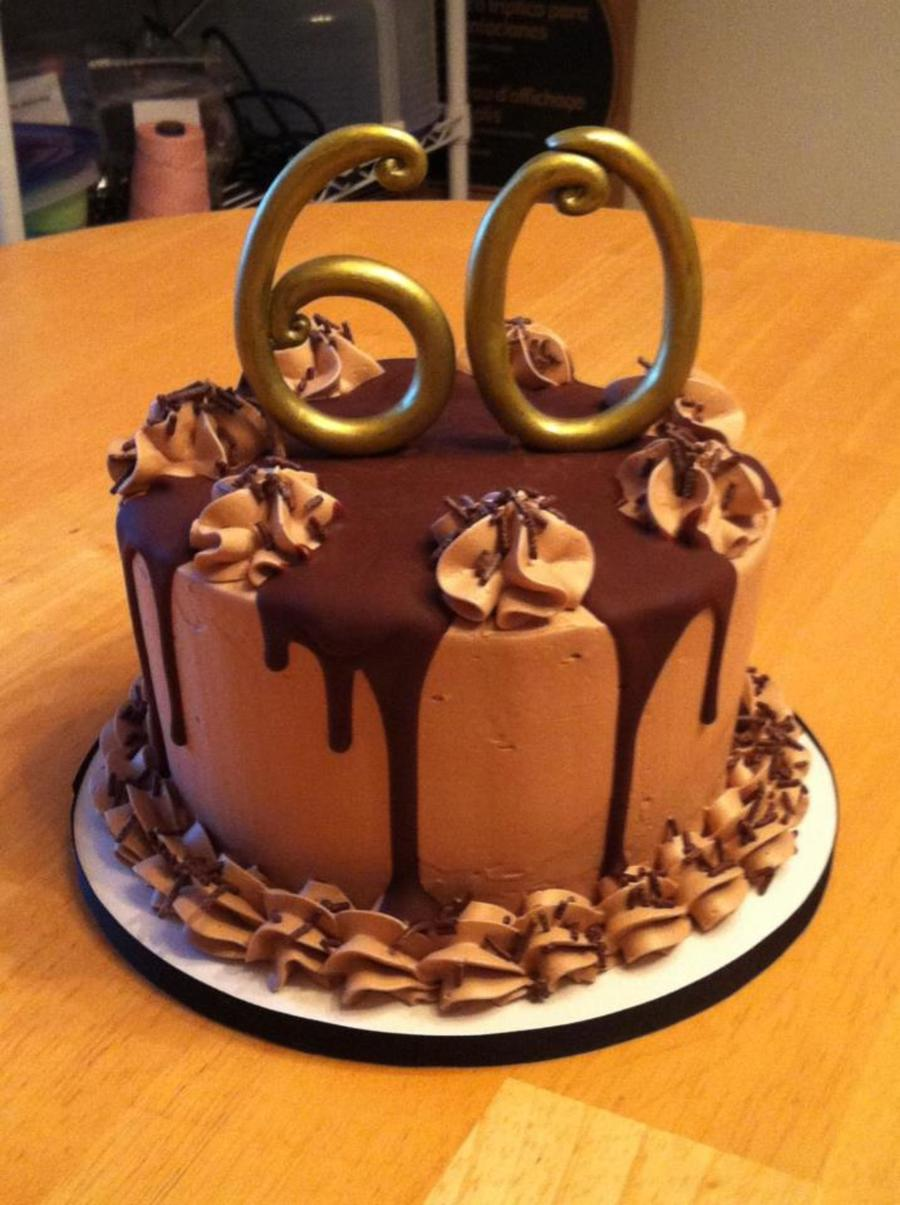 Chocolate Th Birthday Cake