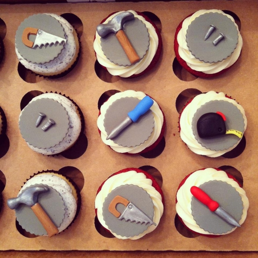 Handyman Cupcakes on Cake Central
