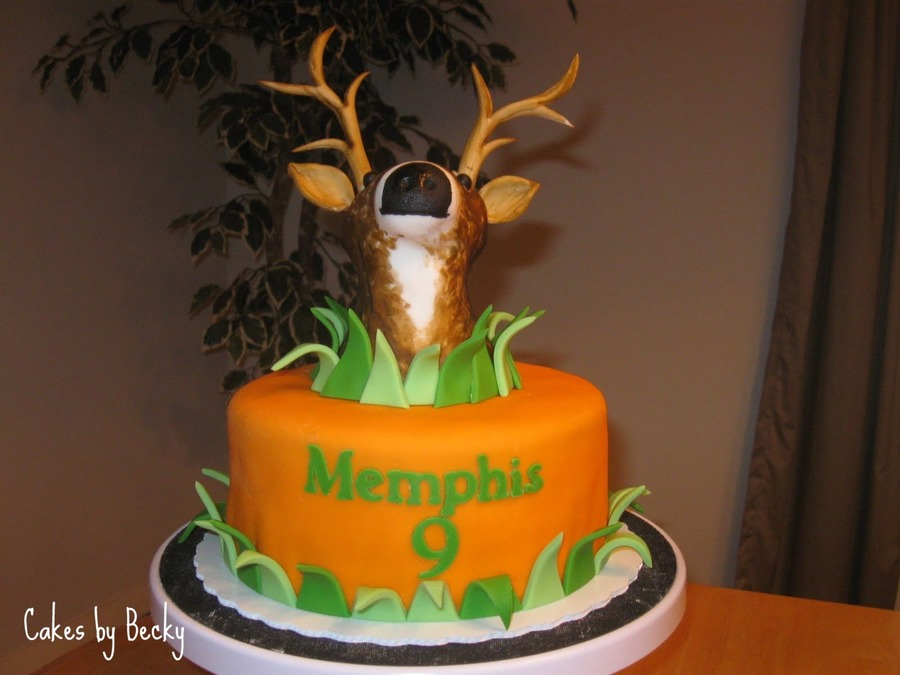 Birthday Cake Toppers For Hunters