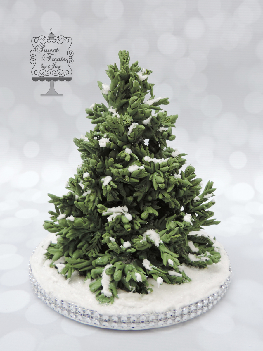 Winter Evergreen on Cake Central