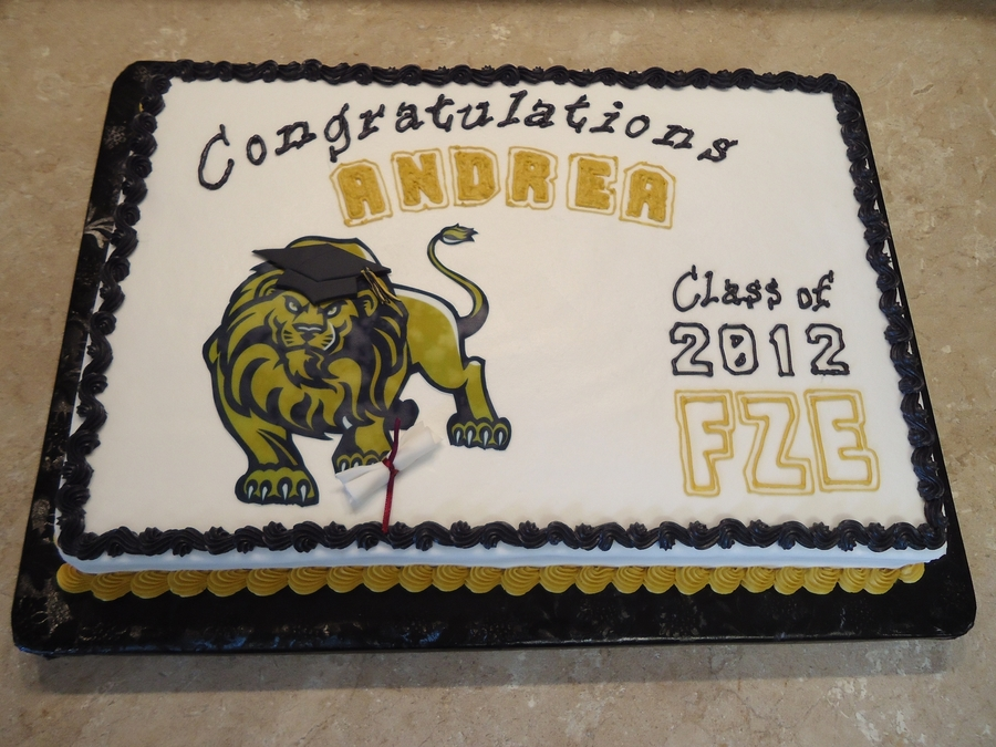Class Of 2012! on Cake Central