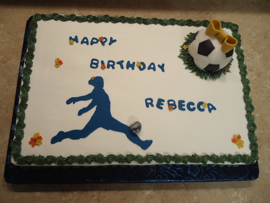 Soccer Birthday on Cake Central