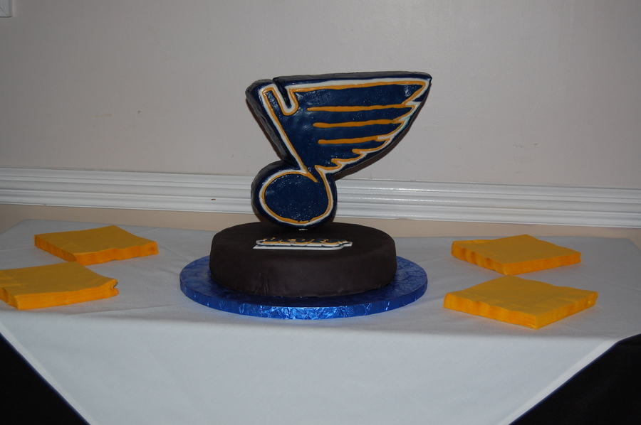 St. Louis Blues on Cake Central