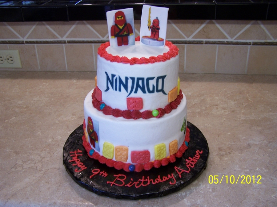 Ninjaga Birthday Cake on Cake Central