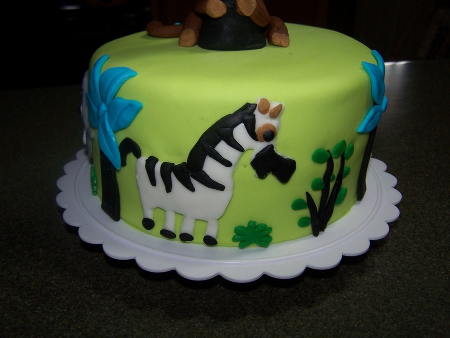 Animal Crazy Baby Shower Cakecentral