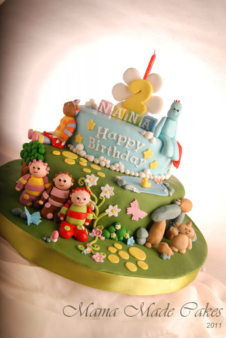 Fabulous In The Night Garden Birthday Cake Cakecentral Com Funny Birthday Cards Online Overcheapnameinfo
